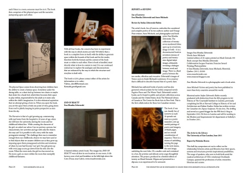 book arts newsletter sarah bodman